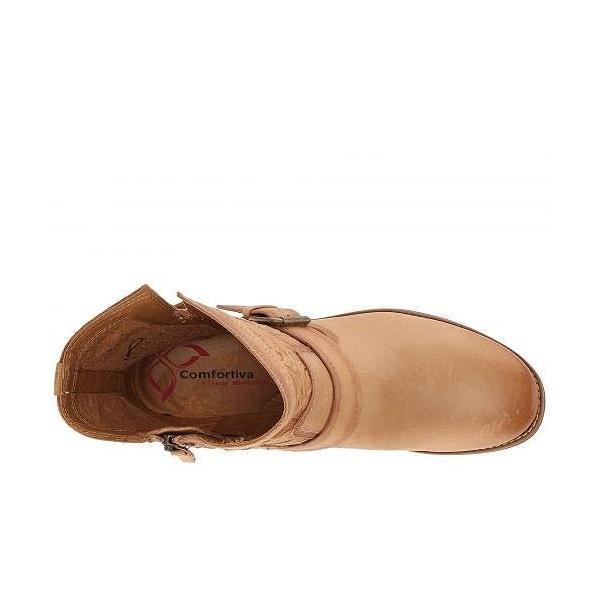 Comfortiva コンフォーティヴァ レディース 女性用 シューズ 靴 ブーツ アンクルブーツ ショート Torrence - New Caramel La Mesa