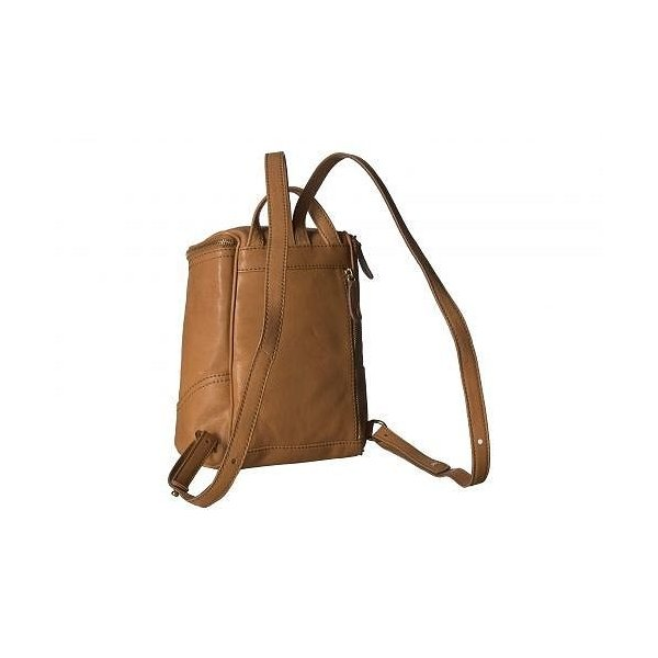 Frye フライ レディース 女性用 バッグ 鞄 バックパック リュック Madison Small Backpack - Tan Soft Vintage Leather