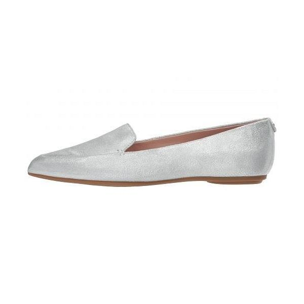 Taryn Rose タリンローズ レディース 女性用 シューズ 靴 ローファー ボートシューズ Faye - Silver Shimmer Metallic