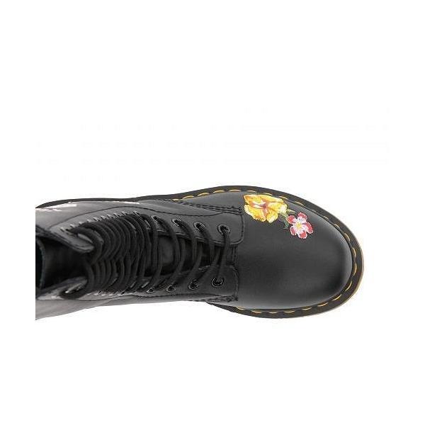 Dr. Martens ドクターマーチン レディース 女性用 シューズ 靴 ブーツ 安全靴 ワークブーツ 1914 Vonda II Floral - Black Softy T