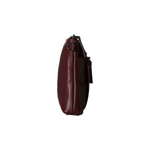Frye フライ レディース 女性用 バッグ 鞄 バックパック リュック Lena Zip Crossbody Wristlet - Wine Soft Lambskin