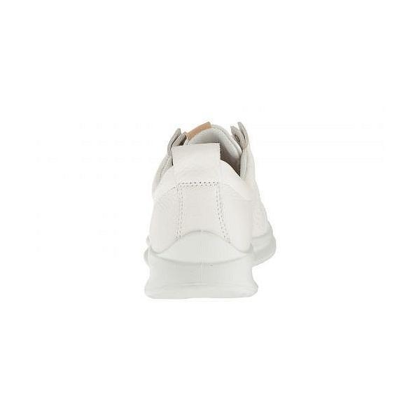 ECCO エコー レディース 女性用 シューズ 靴 オックスフォード 紳士靴 通勤靴 Aquet Perf Tie - White Cow Leather