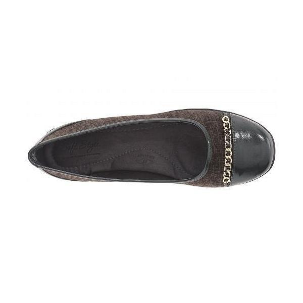 Soft Style ソフトスタイル レディース 女性用 シューズ 靴 フラット Helga - Rosin Tweed/Pearlized Patent
