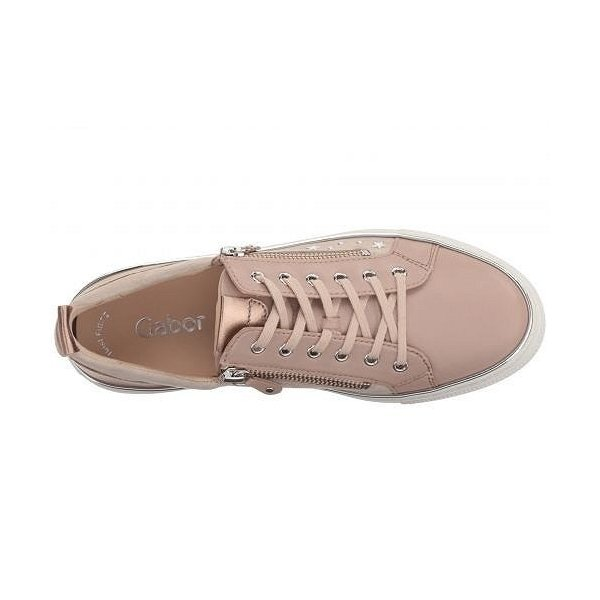 Gabor ガボール レディース 女性用 シューズ 靴 スニーカー 運動靴 Gabor 83.321 - Rose Lammnappa/Samtchevreau/Luxor