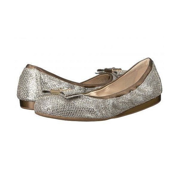 Cole Haan コールハーン レディース 女性用 シューズ 靴 フラット Tali Bow Ballet - Gold/Silver Glitter