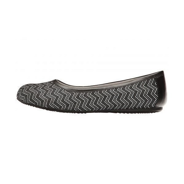 SoftWalk ソフトウォーク レディース 女性用 シューズ 靴 フラット Napa - Black Geo Leather