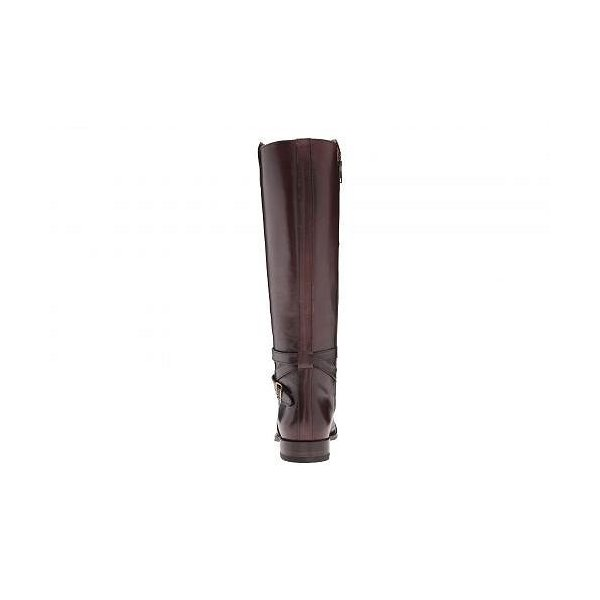 Frye フライ レディース 女性用 シューズ 靴 ブーツ ロングブーツ Jordan Strap Tall - Dark Brown Smooth Veg Calf
