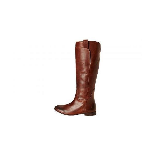Frye フライ レディース 女性用 シューズ 靴 ブーツ ロングブーツ Paige Tall Riding - Cognac Calf Shine