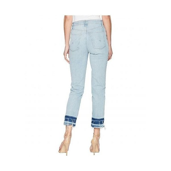 Hudson Jeans ハドソン ジーンズ レディース 女性用 ファッション ジーンズ デニム Zoeey High-Rise Straight Crop Double Step Hem Jeans in Stepped Azure -