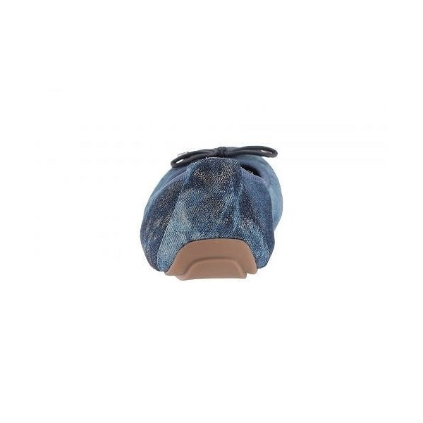 Me Too ミートゥー レディース 女性用 シューズ 靴 フラット Halle - Blue Champagne Denim