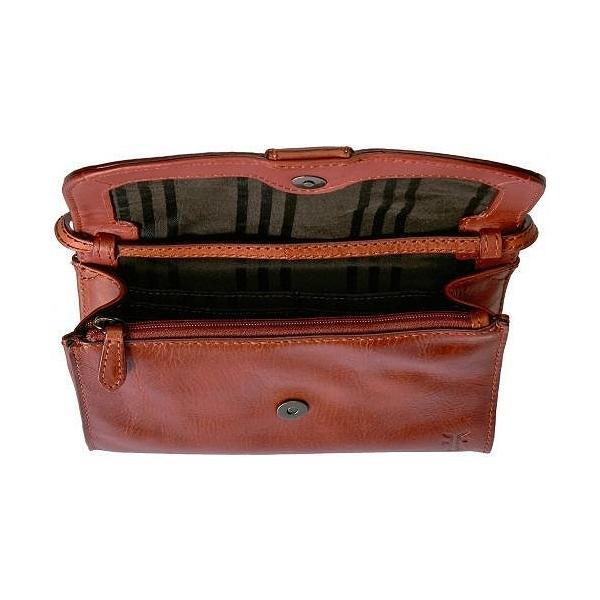 Frye フライ レディース 女性用 バッグ 鞄 ハンドバッグ クラッチ Melissa Wallet Crossbody - Red Clay Antique Pull Up