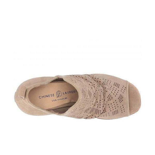 Chinese Laundry チャイニーズランドリー レディース 女性用 シューズ 靴 ブーツ アンクルブーツ ショート Sacred - Stone Taupe Split Suede