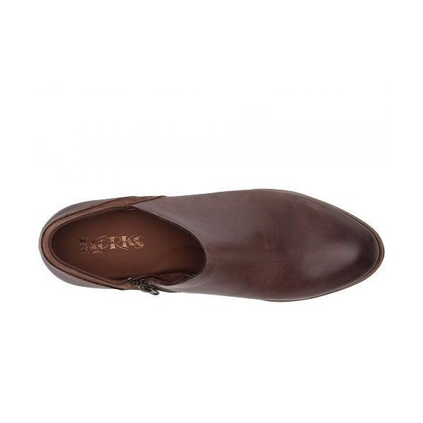 Korks レディース 女性用 シューズ 靴 ブーツ アンクルブーツ ショート Raynor - Brown/Dark Brown Combo