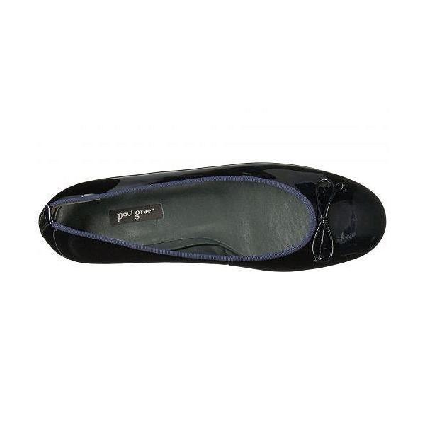 Paul Green ポールグリーン レディース 女性用 シューズ 靴 フラット Emile Ballet - Steel Blue Patent