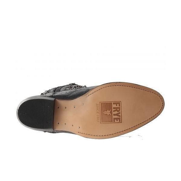 Frye フライ レディース 女性用 シューズ 靴 ブーツ ミッドカフ Deborah Studded Tall - Anthracite Glazed Vintage Leather