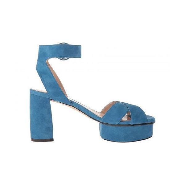 Stuart Weitzman スチュアートワイツマン レディース 女性用 シューズ 靴 ヒール Carmina - Aegean Blue Seda Suede