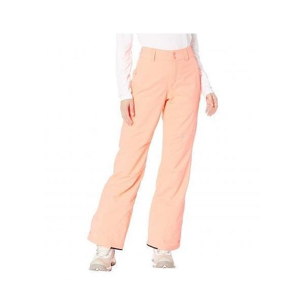 O'Neill オニール レディース 女性用 ファッション スノーパンツ Star Insulated Pants - Neon Tangerine Pink