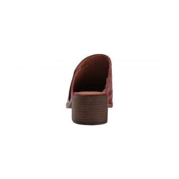 Frye フライ レディース 女性用 シューズ 靴 クロッグ ミュール Claire Mule - Red Clay Waxed Full Veg