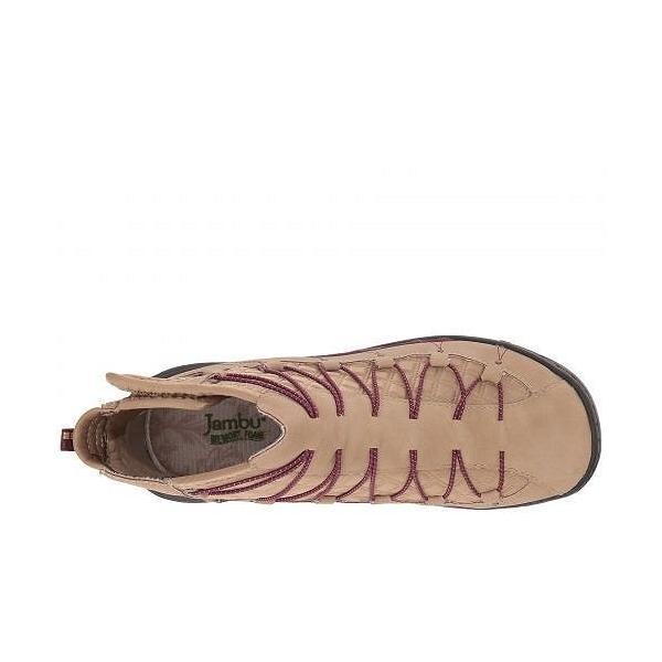 Jambu ジャンブ レディース 女性用 シューズ 靴 ブーツ ハイキングブーツ Spirit Bootie Vegan Water-Resistant - Tan Waxy Vegan/Embossed Neoprene