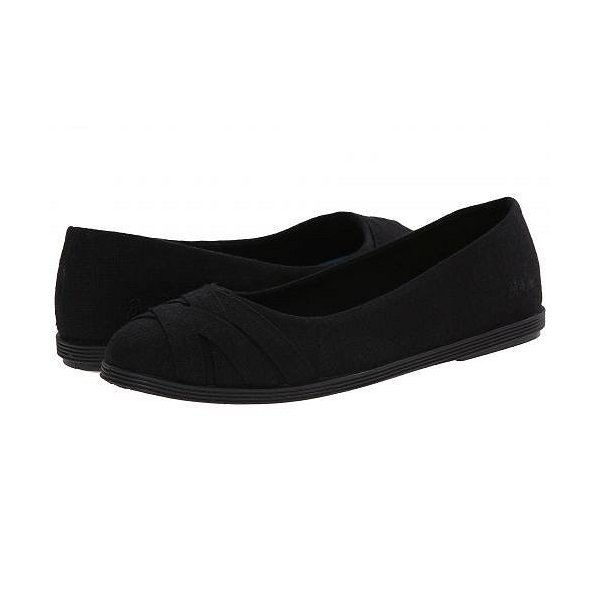 Blowfish ブローフィッシュ レディース 女性用 シューズ 靴 フラット Glo - Solid Black Cozumel