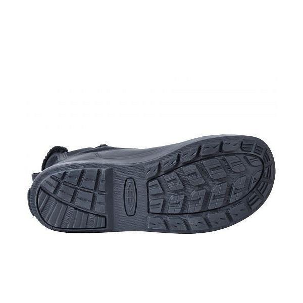 Keen キーン レディース 女性用 シューズ 靴 ブーツ スノーブーツ Elsa Chelsea Waterproof - Black/Black