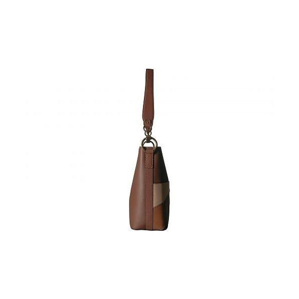 Frye フライ レディース 女性用 バッグ 鞄 バックパック リュック Ilana Color Block Bucket Hobo - Cognac Multi Oiled Veg