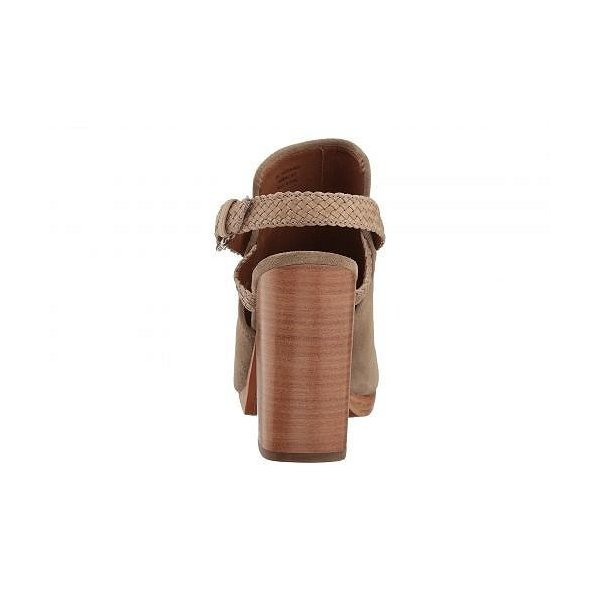 Frye フライ レディース 女性用 シューズ 靴 ヒール Karissa Braid Shield - Ash Soft Oiled Suede/Smooth Full Grain