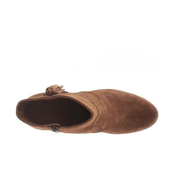 Frye フライ レディース 女性用 シューズ 靴 ブーツ アンクルブーツ ショート Myra Tassel Lace - Chestnut Oiled Suede
