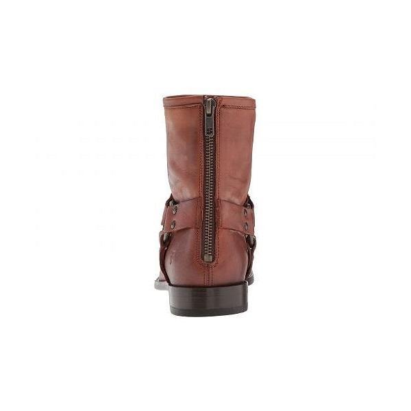 Frye フライ レディース 女性用 シューズ 靴 ブーツ ライダーブーツ Phillip Harness Short - Cognac
