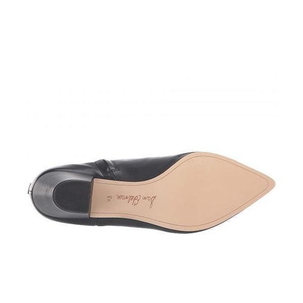 Sam Edelman サムエデルマン レディース 女性用 シューズ 靴 ブーツ アンクルブーツ ショート Karlee - Black Modena Calf Leather