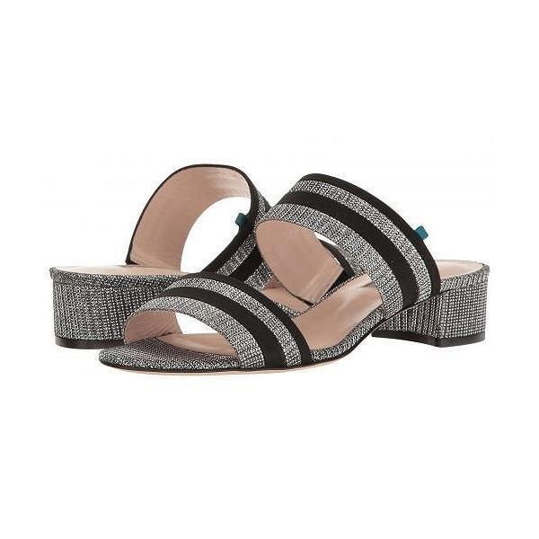 SJP by Sarah Jessica Parker エスジェーピー レディース 女性用 シューズ 靴 ヒール Bloom - Silver/Black Fabric
