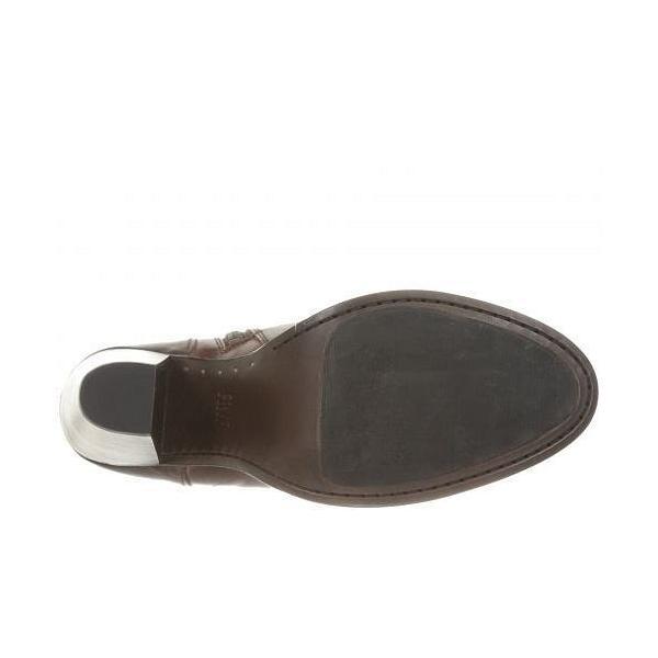 Frye フライ レディース 女性用 シューズ 靴 ブーツ アンクルブーツ ショート Jenny Seam Short - Brown Vintage Veg Tan