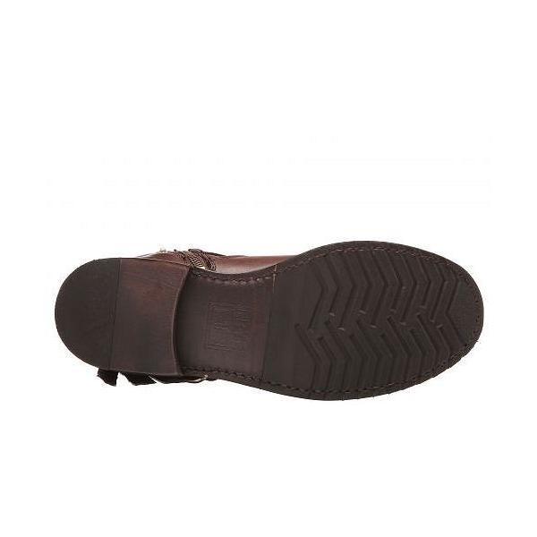 Frye フライ レディース 女性用 シューズ 靴 ブーツ アンクルブーツ ショート Veronica Strap Short - Chocolate Tumbled Full Grain