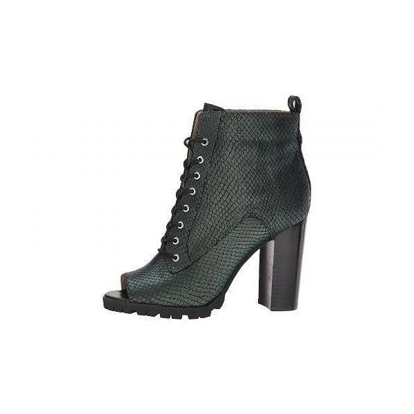 Katy Perry ケイティーペリー レディース 女性用 シューズ 靴 ブーツ アンクルブーツ ショート The Monica - Forest Green Emboss
