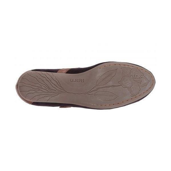 Born ボーン レディース 女性用 シューズ 靴 フラット Maree - Burgundy/Brown Velvet Combo