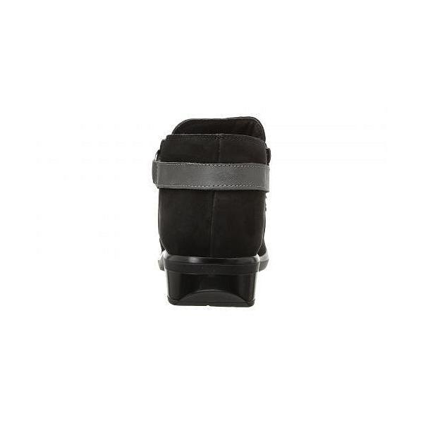 Naot ナオト レディース 女性用 シューズ 靴 オックスフォード 紳士靴 通勤靴 Meltemi - Black Velvet Nubuck/Tin Gray Leather