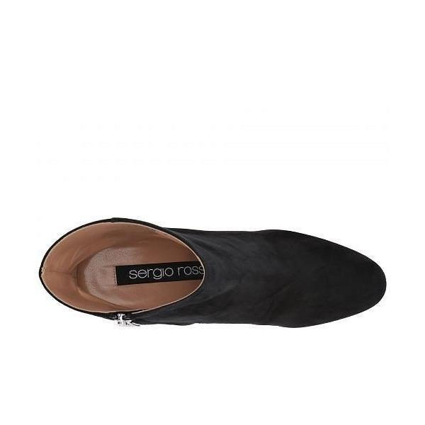 Sergio Rossi セルジオロッシ レディース 女性用 シューズ 靴 ブーツ アンクルブーツ ショート Elettra - Nero Royal/Borchie
