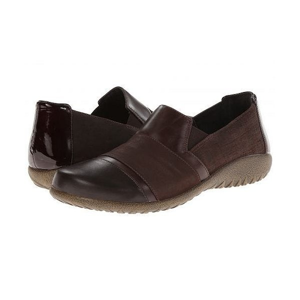 Naot ナオト レディース 女性用 シューズ 靴 ローファー ボートシューズ Miro - Mine Brown Leather/Brown Shimmer Nubuck/Walnut Leather