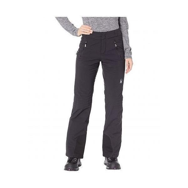 Spyder スパイダー レディース 女性用 ファッション スノーパンツ Winter Pants - Black/Black