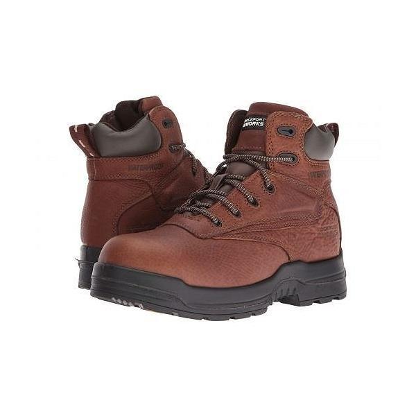 Rockport Works レディース 女性用 シューズ 靴 ブーツ 安全靴 ワークブーツ More Energy - Deer Tan