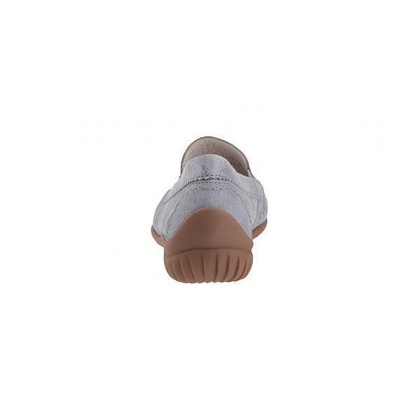 Gabor ガボール レディース 女性用 シューズ 靴 ローファー ボートシューズ Gabor 86.094 - Aqua Caruso Metallic