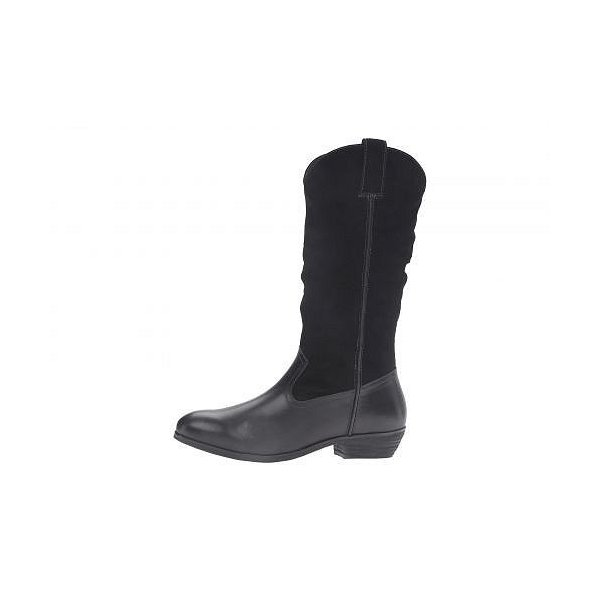 SoftWalk ソフトウォーク レディース 女性用 シューズ 靴 ブーツ ミッドカフ Rock Creek - Black Smooth Leather/Cow Suede