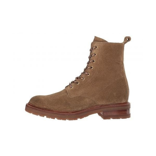 Frye フライ レディース 女性用 シューズ 靴 ブーツ レースアップブーツ Julie Lace-Up Combat w/ Inside Zip - Sand Soft Oiled Suede