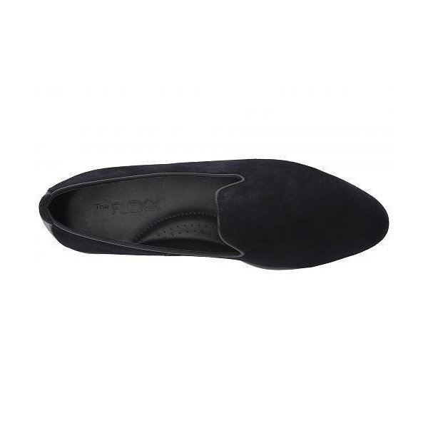 The FLEXX レディース 女性用 シューズ 靴 ローファー ボートシューズ Smokinhot Plush - Blue Suede/Cashmere
