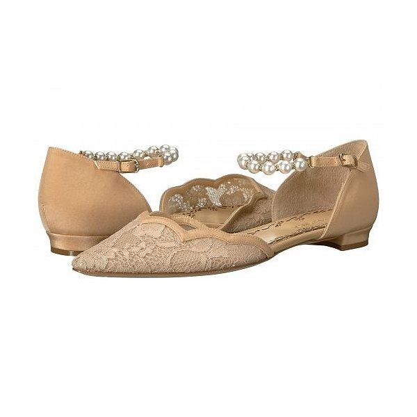 Marchesa レディース 女性用 シューズ 靴 フラット Lucy - Nude Lace