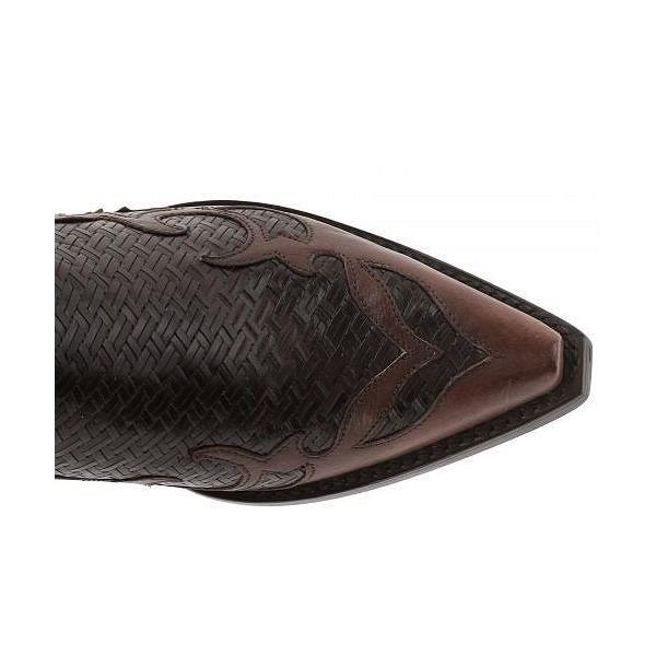 Stetson ステットソン レディース 女性用 シューズ 靴 ブーツ ウエスタンブーツ Bailey - Brown Basket Weave