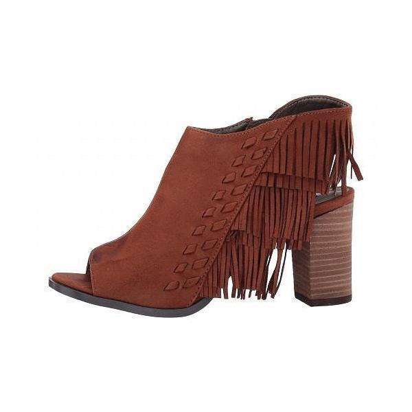 Michael Antonio マイケルアントニオ レディース 女性用 シューズ 靴 ブーツ アンクルブーツ ショート Gary-Sue - Cognac Microfiber