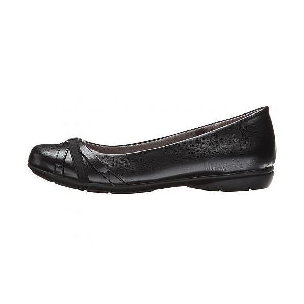 LifeStride ライフストライド レディース 女性用 シューズ 靴 フラット Abigail - Black