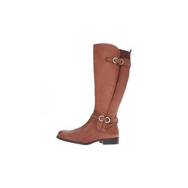 Naturalizer ナチュラライザー レディース 女性用 シューズ 靴 ブーツ ロングブーツ Jennings Wide Calf - Banana Bread Leather