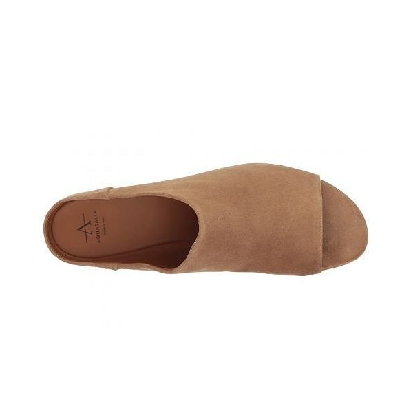 Aquatalia アクアタリア レディース 女性用 シューズ 靴 クロッグ ミュール Adriana - Sand Suede